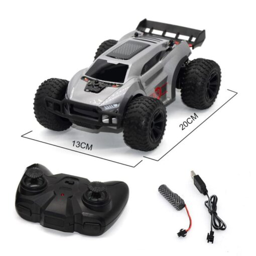 2 4G remote control high speed four wheel drive drift climbing off road rc car toys 5
