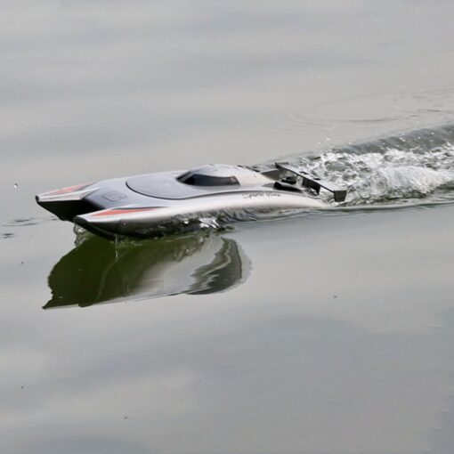 2 4g High speed Remote Control Boat Upgraded Version Cooling Capsize Reset Speed Boat Water Game 4