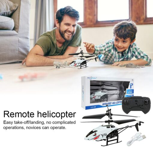 2 Channel Mini RC Helicopter Radio Remote Control Aircraft Gyro Helicoptero Electric Micro Helicopters For Children 1