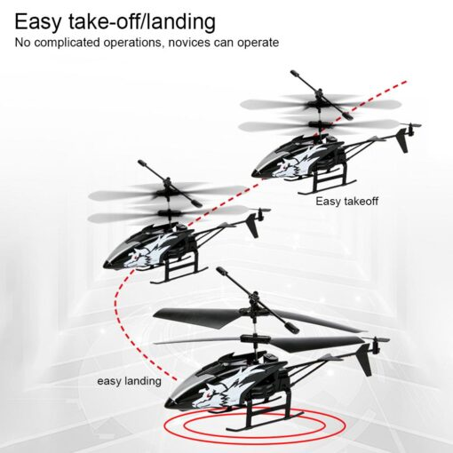 2 Channel Mini RC Helicopter Radio Remote Control Aircraft Gyro Helicoptero Electric Micro Helicopters For Children 2