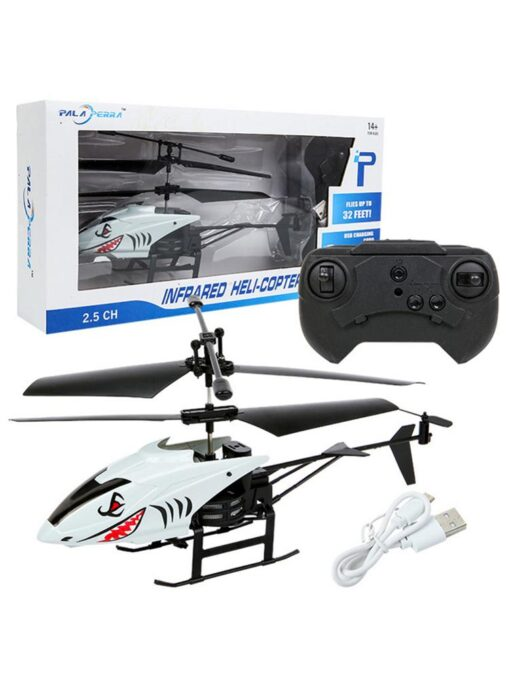 2 Channel Mini RC Helicopter Radio Remote Control Aircraft Gyro Helicoptero Electric Micro Helicopters For Children 3