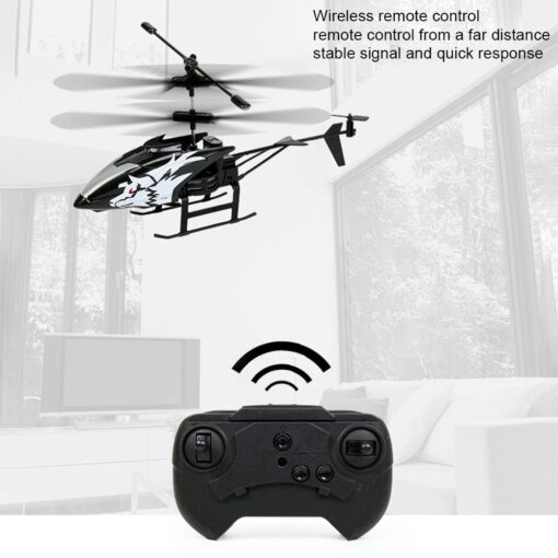 2 Channel Mini RC Helicopter Radio Remote Control Aircraft Gyro Helicoptero Electric Micro Helicopters For Children