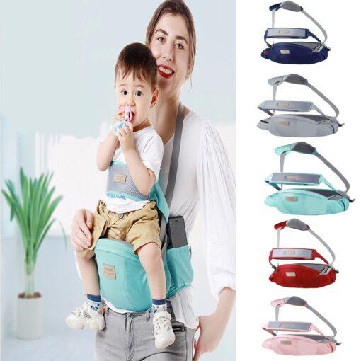2 In 1 Multifunctional Baby Bearing Artifact Baby Waist Stool Kid Carrier Safe Comfortable Strap Infant 1