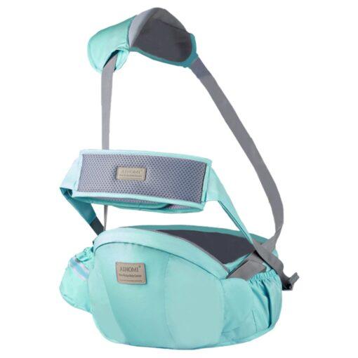 2 In 1 Multifunctional Baby Bearing Artifact Baby Waist Stool Kid Carrier Safe Comfortable Strap Infant 2