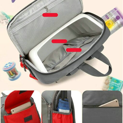 2 in 1 Portable Folding Baby Dining Chair Seat Bag and Mommy Bag Toddler Booster Seat 1