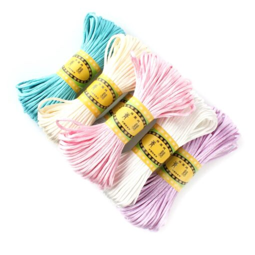 20 meters 2 5mm size Cord DIY String Cord Nylon Rope Accessary Findings For Baby Silicone 2