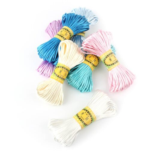 20 meters 2 5mm size Cord DIY String Cord Nylon Rope Accessary Findings For Baby Silicone 3