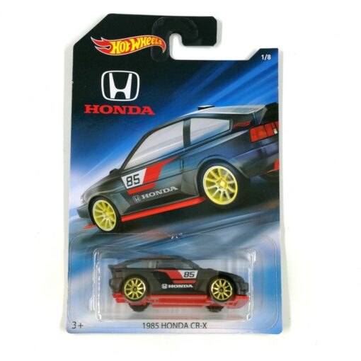 2016 Hot Wheels 1 64 Car 1985 HONDA CR X Collector Edition Metal Diecast Cars Collection 1