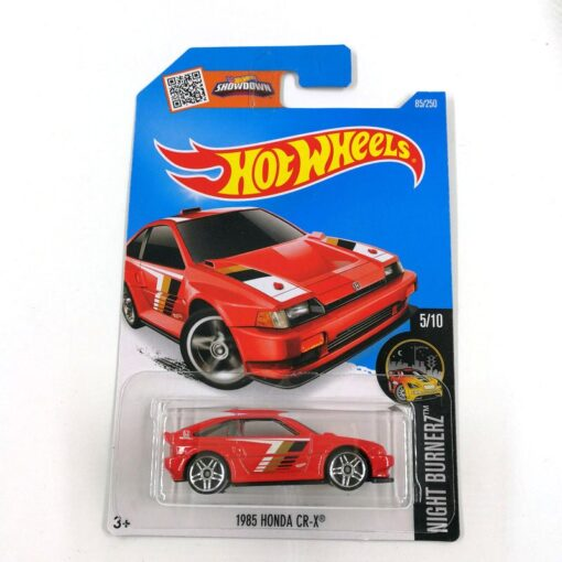 2016 Hot Wheels 1 64 Car 1985 HONDA CR X Collector Edition Metal Diecast Cars Collection