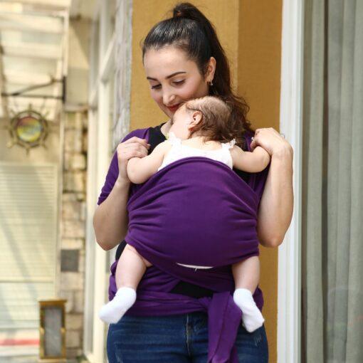 2018 Multifunctional Infant Breastfeed Sling Mochila Soft Wrap Carrier Baby Canguru Backpack 0 3 Yrs Breathable 2