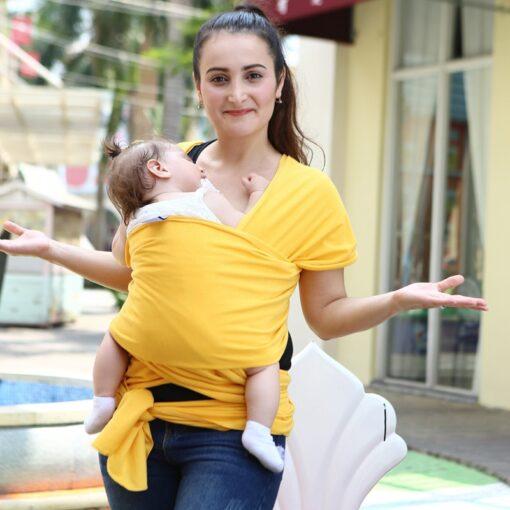 2018 Multifunctional Infant Breastfeed Sling Mochila Soft Wrap Carrier Baby Canguru Backpack 0 3 Yrs Breathable 3