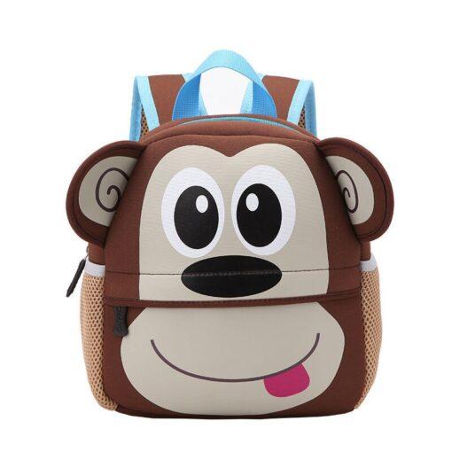 2018 New Cute Kid Mommy Diaper Bags Toddler Kids Backpack Kindergarten bag 3D Cartoon Animal Bag 2