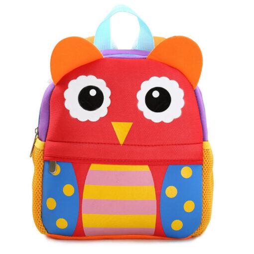2018 New Cute Kid Mommy Diaper Bags Toddler Kids Backpack Kindergarten bag 3D Cartoon Animal Bag