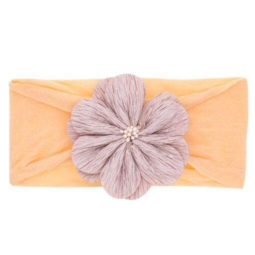 2019 Hot Kid Baby Girl Floral Elastic Hairband Girls Baby Headband Toddler Bow Flower Hair Band 3