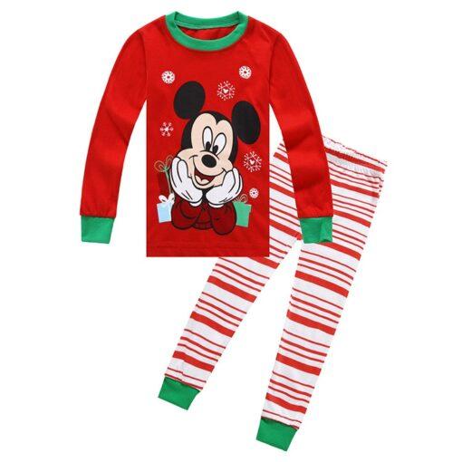2019 Kids boy girls clothing pajamas set 100 Cotton Children Sleepwear 2 Pieces Cartoon Tops Pants 3