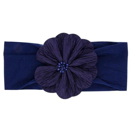 2019 New Baby Nylon Headband Soft Rabbit Bowknot Turban Hair Bands for Children Girls Elastic Headband 3