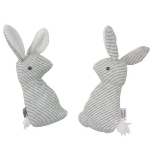 2019 New Baby Rattle Toys Animal Cute Rabbit Hand Bells Plush Baby Toy With BB Sound