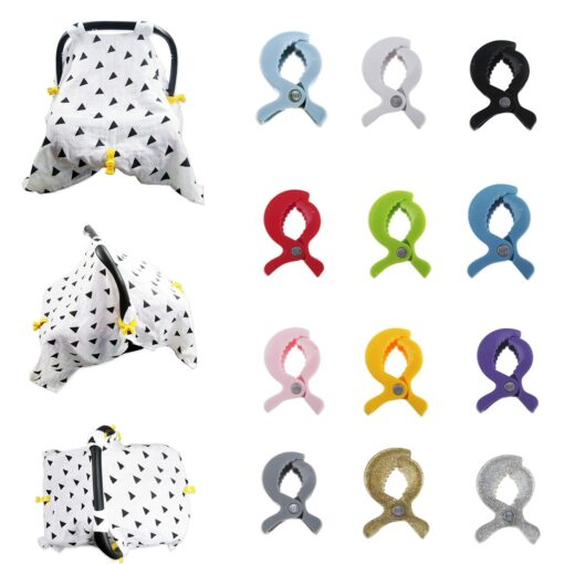 2019 Summer New ArrivelBaby Stroller Accessories Stroller Cover Clip Blanket Toy Stroller Pegs Hook P40 1