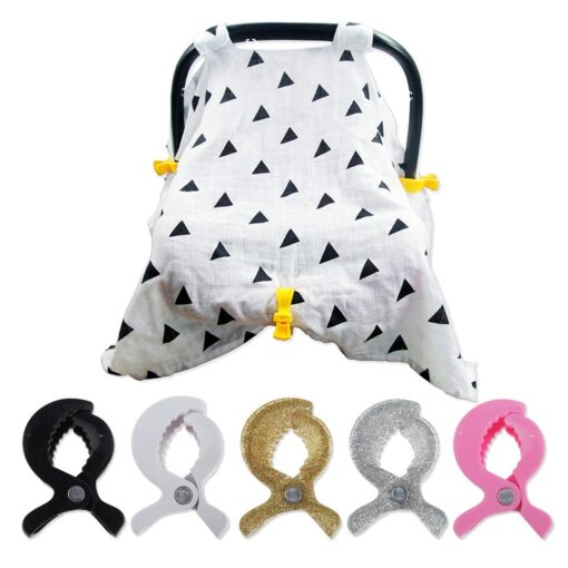 2019 Summer New ArrivelBaby Stroller Accessories Stroller Cover Clip Blanket Toy Stroller Pegs Hook P40
