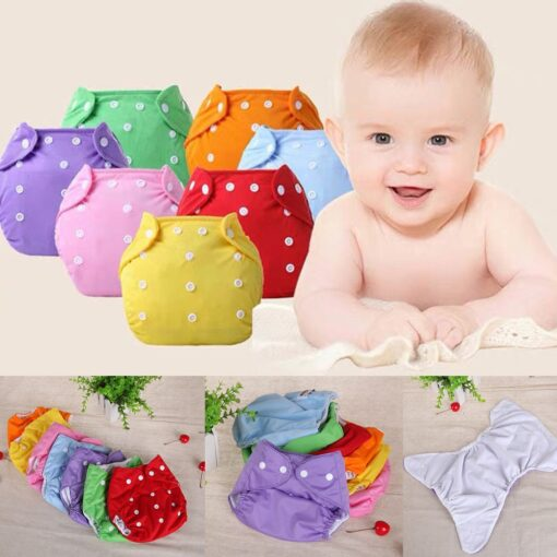 2020 Baby Kid Newborn Diapers 1PC Adjustable Reusable Baby Boys Girls Cloth Soft Covers Infant Washable 1