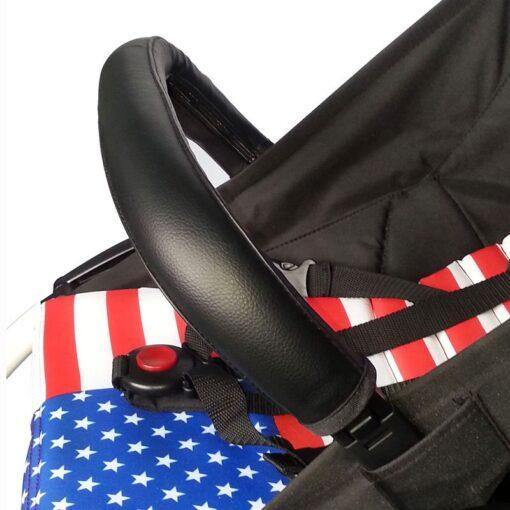 2020 Baby Pram Handle PU Leather Pushchair Stroller Armrest Case Protective Cover For babyyoya yoya Pram 2