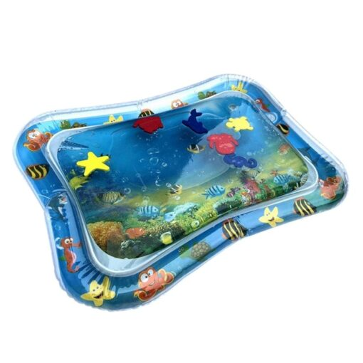 2020 Baby Toys Infant Cartoon Pattern Water Play Mat Fun Activity Play Center PVC Water Filled 1