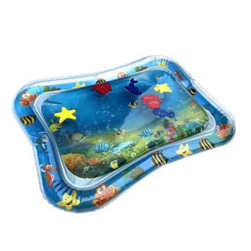 2020 Baby Toys Infant Cartoon Pattern Water Play Mat Fun Activity Play Center PVC Water Filled
