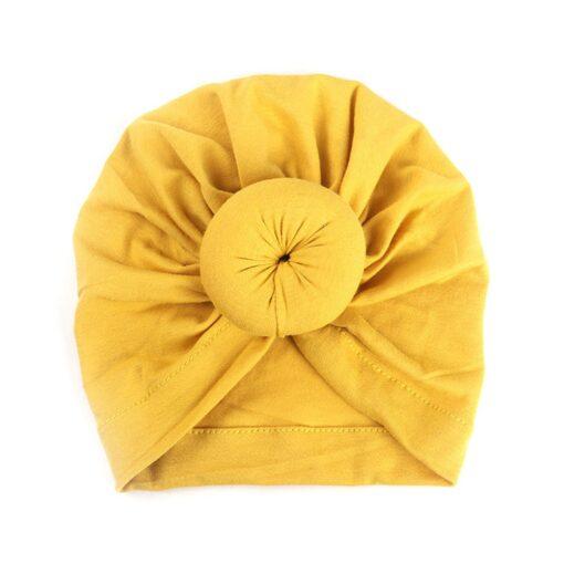 2020 Baby cotton blends Headband Soft Rabbit Bowknot Turban Hair Bands for Children Girls Elastic Headwrap 2
