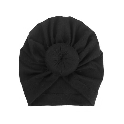 2020 Baby cotton blends Headband Soft Rabbit Bowknot Turban Hair Bands for Children Girls Elastic Headwrap 3