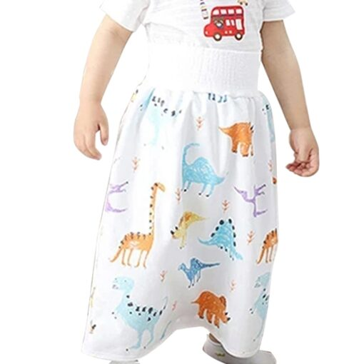 2020 Comfy Childrens Diaper Skirt Shorts 2 in 1 Waterproof and Absorbent Shorts for Baby Toddler 1
