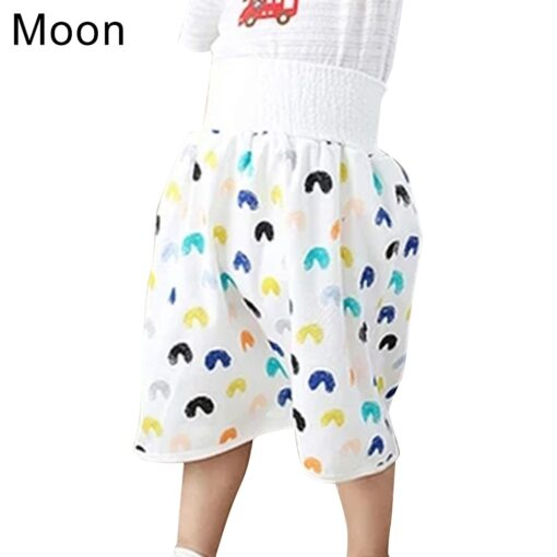 2020 Comfy Childrens Diaper Skirt Shorts 2 in 1 Waterproof and Absorbent Shorts for Baby Toddler
