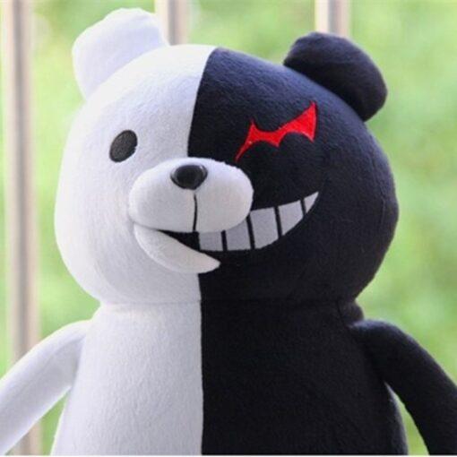 2020 Dangan Ronpa Super Danganronpa 2 Monokuma Black White Bear Toy Soft Stuffed Animal Dolls 2