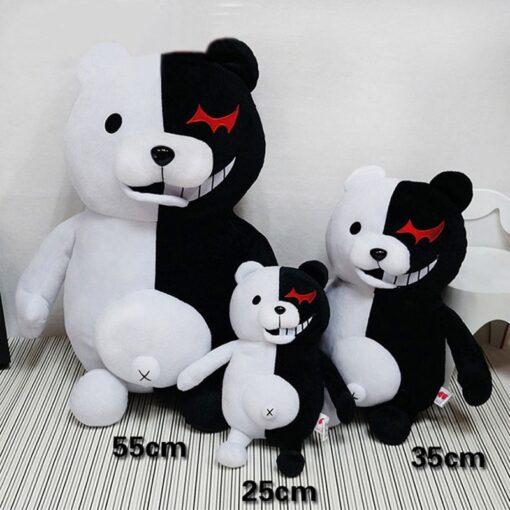 2020 Dangan Ronpa Super Danganronpa 2 Monokuma Black White Bear Toy Soft Stuffed Animal Dolls 4