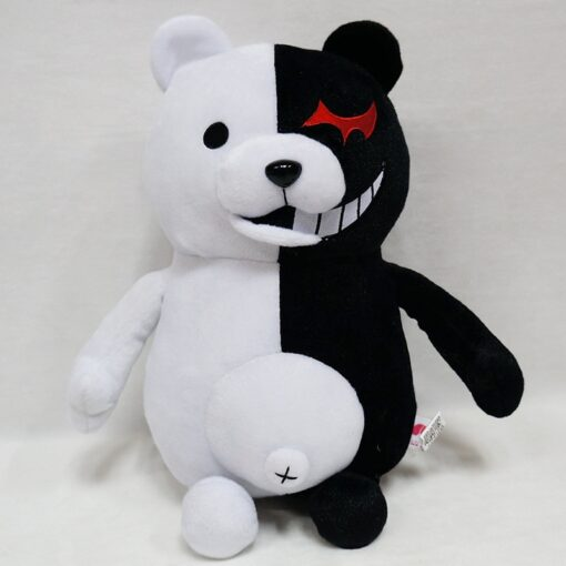 2020 Dangan Ronpa Super Danganronpa 2 Monokuma Black White Bear Toy Soft Stuffed Animal Dolls