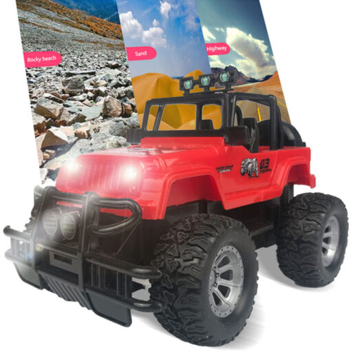 2020 Hot Four way Remote Control Wrangler 1 20 With Light Remote Control Off road Vehicle