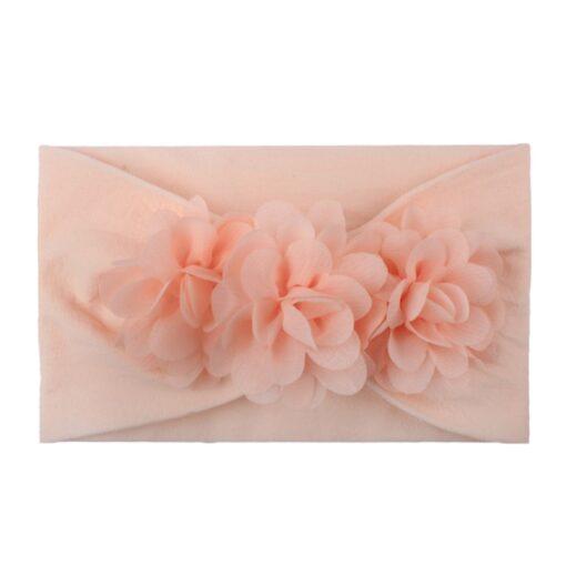 2020 Kids Headband Hair Kid Barrette Accessories Nylon Fabric Flower Flora Headband Cute Princess Super Soft 1