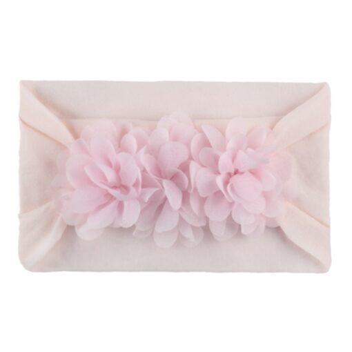 2020 Kids Headband Hair Kid Barrette Accessories Nylon Fabric Flower Flora Headband Cute Princess Super Soft 2