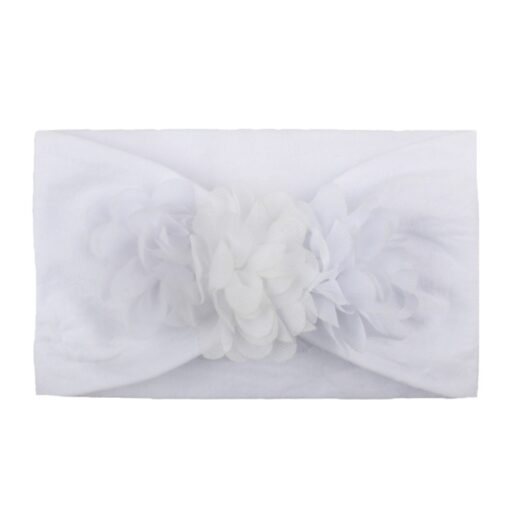2020 Kids Headband Hair Kid Barrette Accessories Nylon Fabric Flower Flora Headband Cute Princess Super Soft