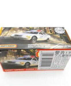 2020 Matchbox Cars 1 64 Car CHEVY CAPRICE CLASSIC POLICE Metal Diecast Alloy Model Car Toy
