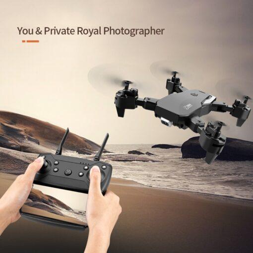 2020 NEW Drone 4k HD Wide Angle Camera 1080P WiFi fpv Drone Dual Camera Quadcopter Height 11
