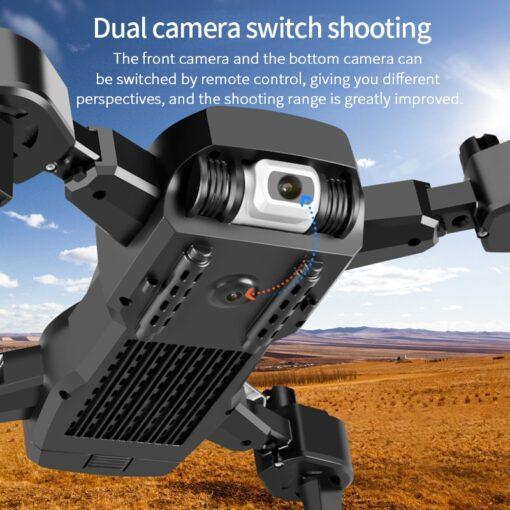 2020 NEW Drone 4k HD Wide Angle Camera 1080P WiFi fpv Drone Dual Camera Quadcopter Height 5