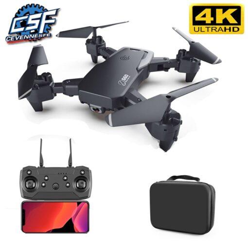 2020 NEW Drone 4k HD Wide Angle Camera 1080P WiFi fpv Drone Dual Camera Quadcopter Height 6