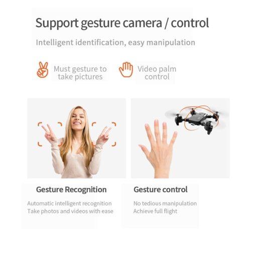 2020 NEW Drone 4k HD Wide Angle Camera 1080P WiFi fpv Drone Dual Camera Quadcopter Height 7