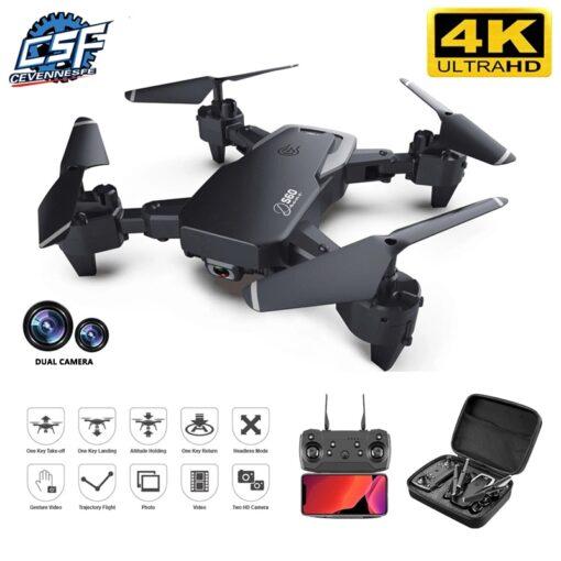 2020 NEW Drone 4k profession HD Wide Angle Camera 1080P WiFi fpv Drone Dual Camera Height