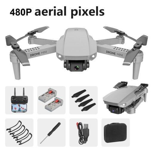 2020 NEW Drone Mini E88 480P HD Camera WIFI FPV Foldable Altitude Hold Drone RC Quadcopter 4