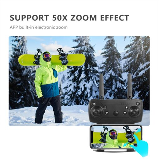 2020 NEW E88 drone 4k HD Drone With wide angle camera drone WiFi 1080p real time 5
