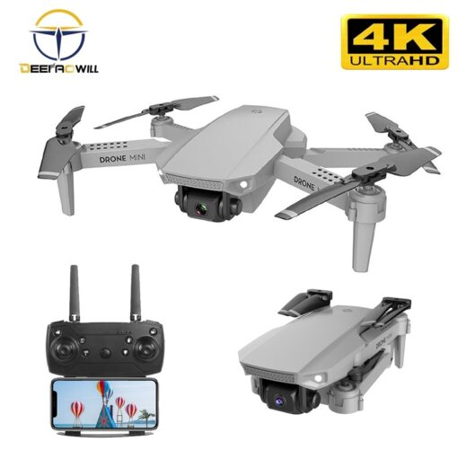 2020 NEW E88 drone 4k HD Drone With wide angle camera drone WiFi 1080p real time