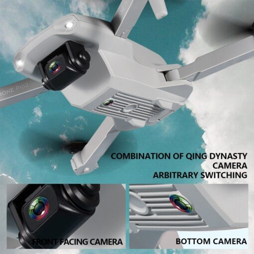 2020 NEW E99 Drone 4K HD FPV Wide Angle Profession Dual Camera Hight Hold Optical Flow 1