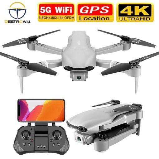 2020 NEW F3 drone GPS 4K 5G WiFi live video FPV quadrotor flight 25 minutes rc