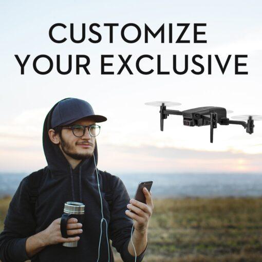2020 NEW KF611 Drone 4k HD Wide Angle Camera 1080P WiFi fpv Drone Dual Camera Quadcopter 4